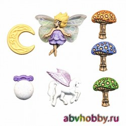 Пуговицы Dress It Up 4673