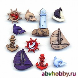 Пуговицы Buttons Galore 4264
