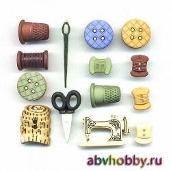 Пуговицы Buttons Galore 4099