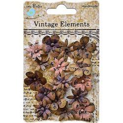 Декоративные бумажные цветы QLB019-BR