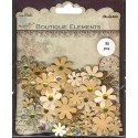 Декоративные бумажные цветы QLB015-BR