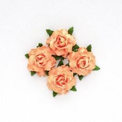 """Декоративные бумажные цветы """"Кудрявая роза"""" SCB291815"""