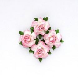 """Декоративные бумажные цветы """"Кудрявая роза"""" SCB291814"""