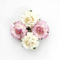 """Декоративные бумажные цветы """"Чайная роза"""" SCB291816"""