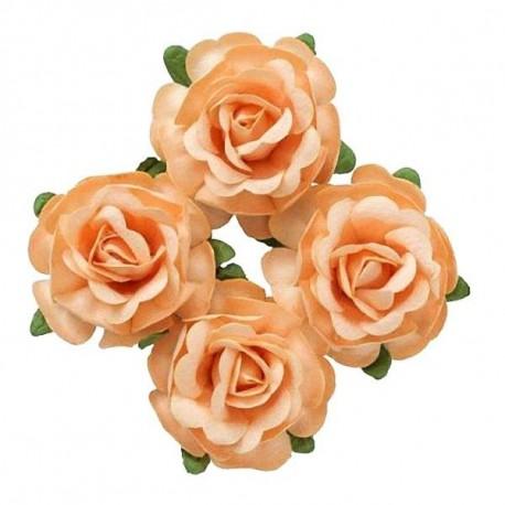 """Декоративные бумажные цветы """"Чайная роза"""" SCB291811"""