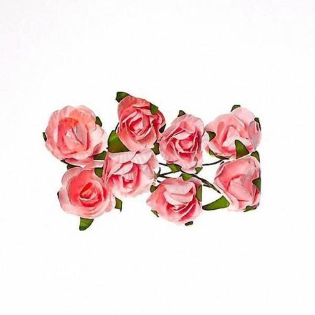 """Декоративные бумажные цветы """"Розы"""" SCB280504"""