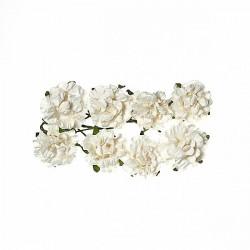 """Декоративные бумажные цветы """"Кудрявые розы"""" SCB280601"""