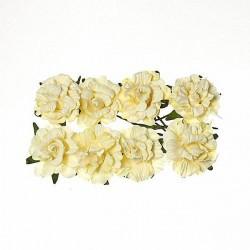 """Декоративные бумажные цветы """"Кудрявые розы"""" SCB280602"""