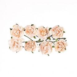 """Декоративные бумажные цветы """"Кудрявые розы"""" SCB280607"""