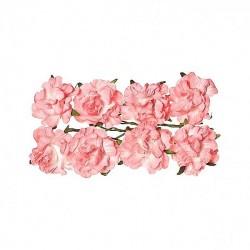 """Декоративные бумажные цветы """"Кудрявые розы"""" SCB280608"""