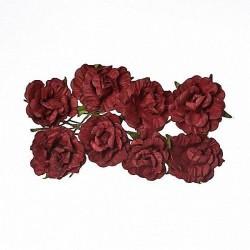 """Декоративные бумажные цветы """"Кудрявые розы"""" SCB280609"""
