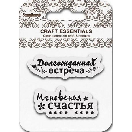 """Набор штампов """"Мгновения Счастья"""" SCB4907059"""