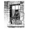 """Штамп силиконовый """"Довольный кот"""" La Blanche 1262"""