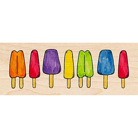 """Штамп резиновый """"Фруктовое мороженое"""" 30048"""