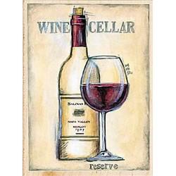 """Штамп резиновый """"Погребок красного вина"""" 80427"""