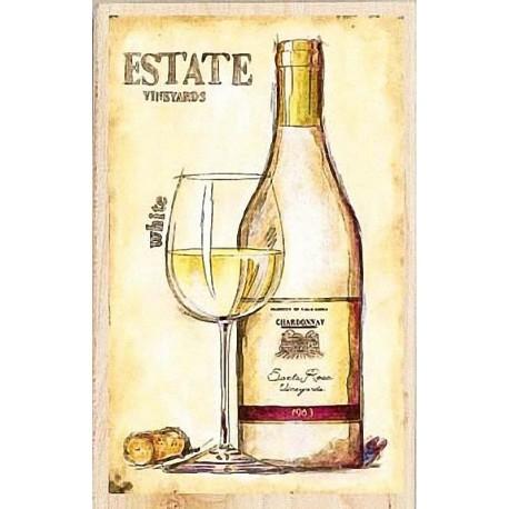 """Штамп резиновый """"Белое вино"""" 90435"""