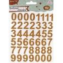 Пробковые стикеры «Цифры» 7916