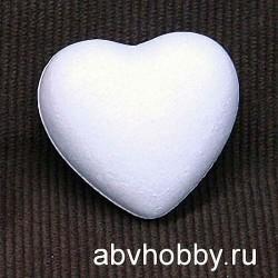 "Форма из пенопласта ""Сердце 1"""