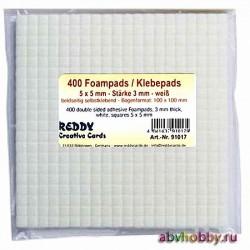 Пластинки двусторонние самоклеящиеся REDDY Creative Cards 91017