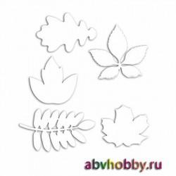 Чипборд из микрогофрокартона «Осенние листья» AHM110001