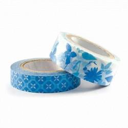 "Набор декоративных лент Washi ""Blue"" 42203-7"