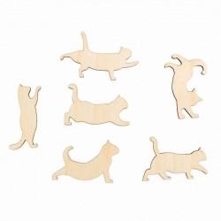 """Форма для декора """"Гуляющие коты"""" DZ40051"""