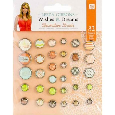 "Набор брадсов Prima Marketing ""Wishes & Dreams"" 970277"
