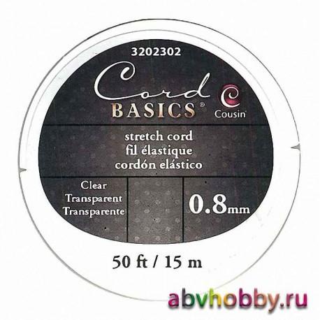 Эластичный шнур для бус COUSIN 3202302