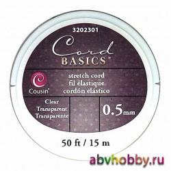 Эластичный шнур для бус COUSIN 3202301
