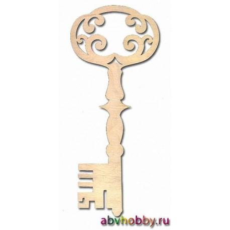 """Заготовка деревянная """"Ключ №1"""" 046155"""