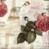 "Ткань ""Париж в розах"" Michael Miller Fabrics APJ-13509-14-NAT"