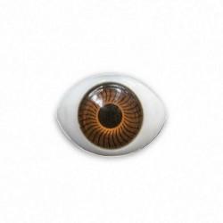 Глазки пластиковые клеевые DL02BR