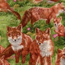 "Ткань ""Red Fox"" Fabri-Quilt 112-29501"