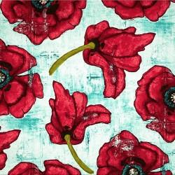"""Ткань """"Большие маки"""" Michael Miller Fabrics DC4274"""