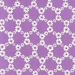"""Ткань """"Цветочные узоры"""" Michael Miller Fabrics CX5912-PURPLE"""