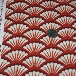"Ткань ""Fan dance"" Michael Miller Fabrics CX6961-REDX-D"
