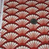 "Ткань ""Fan dance"" Michael Miller Fabrics CX6961-REDX-D"