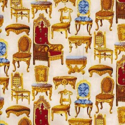 "Ткань ""Marcus Mansion"" Marcus Brothers Textiles R22 6689-132"