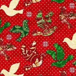 """Ткань """"Birds"""" Fabri-Quilt 1120-10421"""