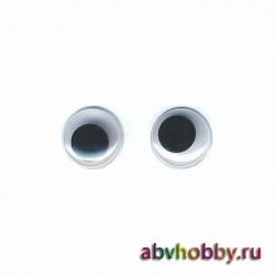 """Глазки пластиковые круглые 15 мм """"Colibry"""" YS15"""