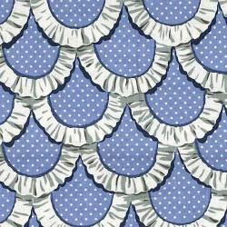 "Ткань ""Кружева"" Michael Miller Fabrics CX5896-PERI"