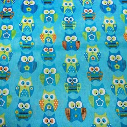 "Ткань ""Owls Wise Eyes"" Springs Creative CP36917"