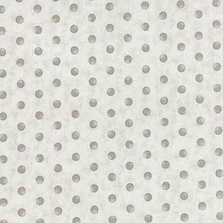 "Ткань ""Pebble Grey Dot"" Moda Fabrics 44069-14"