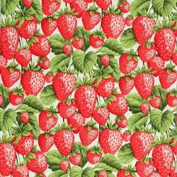 "Ткань ""Strawberries"" Fabri-Quilt 112-28661"